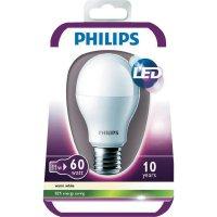 LED žárovka Philips E27, 9,5 W,teplá bílá