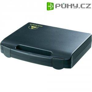 ESD kufřík Licefa vodivý, (d x š x v) 240 x 170 x 42 mm, černá