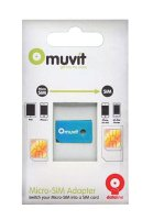 Muvit - adaptér z microSIM na SIM karty