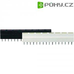 LED řádek 8nás. Signal Construct, ZALS 080, 9 mm, červená