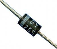 BY255 dioda 1300V/3A DO201