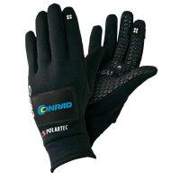 Cyklistické rukavice s integrovaným blinkrem, zimní provedení, velikost M