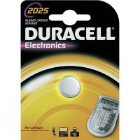 Knoflíková baterie Duracell CR2025, lithium, DUR033979