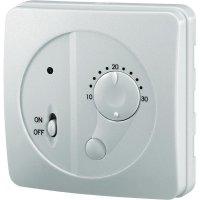 Nástěnný pokojový termostat, 10 až 30 °C, bílá
