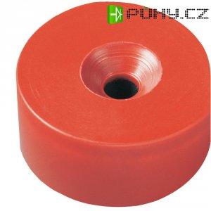 Permanentní magnet kruhový Elobau 300780, (Ø x v) 26 mm x 11 mm, BaO