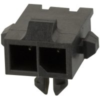 Konektor TE Connectivity Micro-Mate-N-Lok (2-1445055-2), kolíková lišta úhlová, 250 V