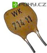 270pF/63V WK71411, slídový kondenzátor