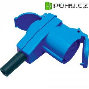 CEE-Cara úhlová spojka Sirox, 811.010-CO, 16 A, IP44, modrá