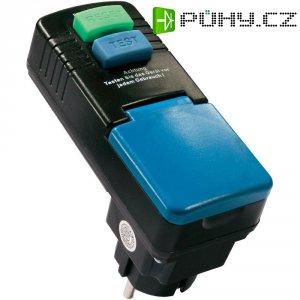 Bezpečnostní mezizásuvka AS Schwabe, 45230, IP44, 30 mA, černá