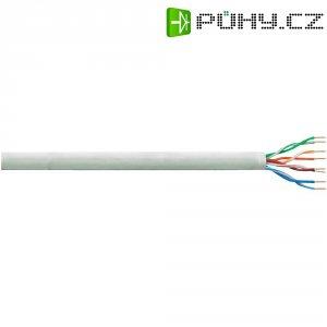 Instalační kabel LogiLink CAT5E U/UTP, šedá, 305 m