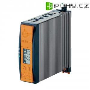 Jistič na DIN lištu Block PVFB 24/24-32, 4x 8 A, 24 V/DC