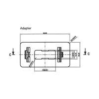 Adaptér pro odpojovače TIPPMATIC - černá