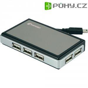 Hub s napájecím kabelem,6 portový, USB 2.0