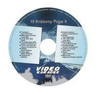 Karaoke DVD KRÁLOVNY POPU II
