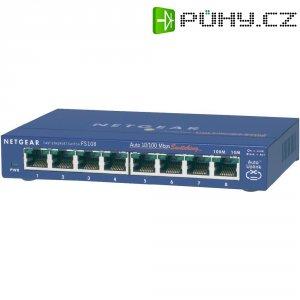 Switch Netgear Ethernet, 8-portový, FS108