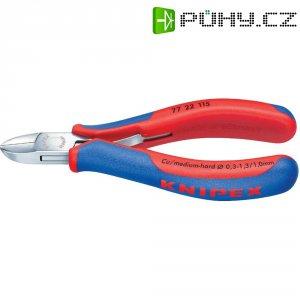 Stranové štípací kleště Knipex 77 22 115, 115 mm, kulatá hlava bez fazety