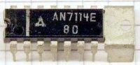 AN7114E - nf zesilovač 1W, DIL14+g