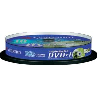 Verbatim DVD+R 4,7GB 16X 10 ks SP LIGHT