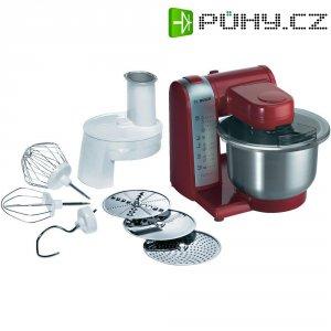 Kuchyňský robot Bosch MUM48R1, 600 W, nerez, červená
