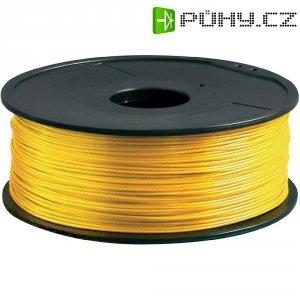 Náplň pro 3D tiskárnu, Renkforce PLA175J1, PLA, 1,75 mm, 1 kg, zlatá