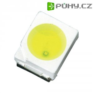 SMD LED PLCC2 Lumimicro, LMTP2P32A1PWZ03 Si, 20 mA, 2,9 V, 120 °, 2500 mcd, bílá