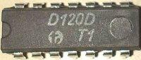 D120D - 2x 4vstup NAND, DIL14 /MH7420/