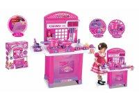 Kuchyňka dětská G21 SUPERIOR s příslušenstvím růžová