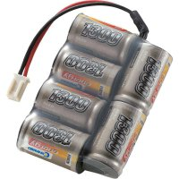 Akupack NiMH (modelářství) 7.2 V 1300 mAh Conrad energy Side by Side zásuvka Micro-Car
