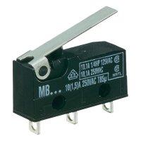 Mikrospínač Hartmann 260524, 250 V/AC, 10 A
