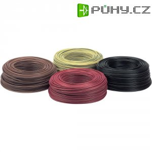 Kabel (licna), LappKabel, H07V-K, 1 x 2,5 mm², černá, 100 m