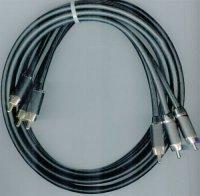 2xCinch-2xCinch HiFi kabel 6mm/2m DOPRODEJ