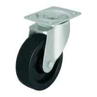 Tepelně odolné otočné kolečko s konstrukční deskou, Ø 100 mm, Blickle 613455