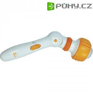 Cestovní masážní přístroj Hydas Körpermassager Mobil HM107B, bílá, oranžová