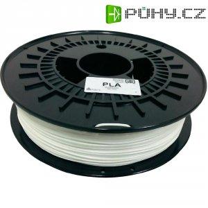 Náplň pro 3D tiskárnu, German RepRap 100257, PLA, 1,75 mm, 750 g, bílá