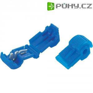 Zářezová svorka 3M, 952, 0,8 - 2 mm², 2pólová, modrá