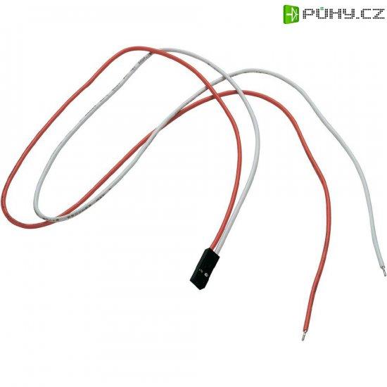 Připojovací kabely pro LED pásky SLV, 50 cm, 2 ks, červená/bílá - Kliknutím na obrázek zavřete
