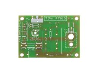 Plošný spoj pro stavebnici PT019 Triakový regulátor výkonu 230V/10A