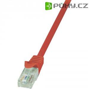 Patch kabel LogiLink CAT6 U/UTP, červená, 2,00 m