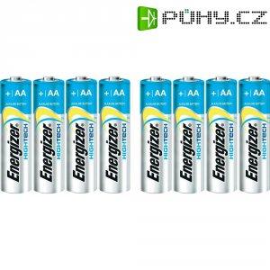Alkalická baterie Energizer Hightech, typ AA, sada 4 ks+4 zdarma