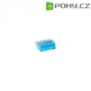 Svorka HellermannTyton, 148-90003, 0,5 - 2,5 mm², 5pólová, modrá