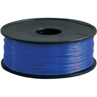 Náplň pro 3D tiskárnu, Renkforce PLA175U1, PLA, 1,75 mm, 1 kg, modrá