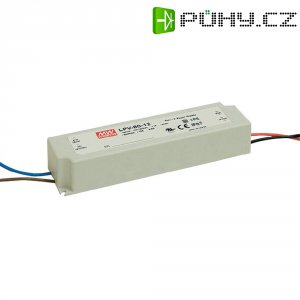 Vestavný spínaný zdroj MeanWell LPV-60-24 LED, 24 VDC, 60 W