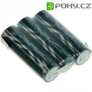 Akupack s pájecími kontakty Sanyo XX AA, 3,6 V, 2400 mAh