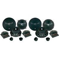 Komponentní reproduktory Hifonics Titan 16.5 cm, 165 mm, 250 W