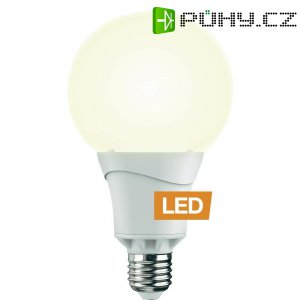 LED žárovka Ledon G95, E27, 10W, teplá bílá