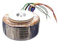 Transformátor toroidní 314VA 25/0/25V - 6A, 12V - 1.2A (145/68) vhodný pro Stavebnice PT003B/6