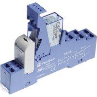 Vazební relé pro lištu DIN Finder 48.82.7.012.0050, 12 V/DC, 10 A, 2 přepínací kontakty