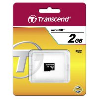 Paměťová karta microSD Transcend 2GB Class 2