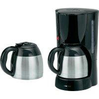 Kávovar Clatronic KA 3386D, 1000 W, černá/nerez