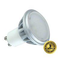 Žárovka LED SPOT GU10 7W bílá teplá SOLIGHT